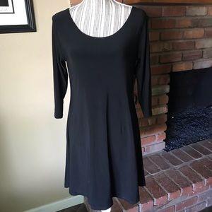 Sympli Black Mini Dress Sz 8